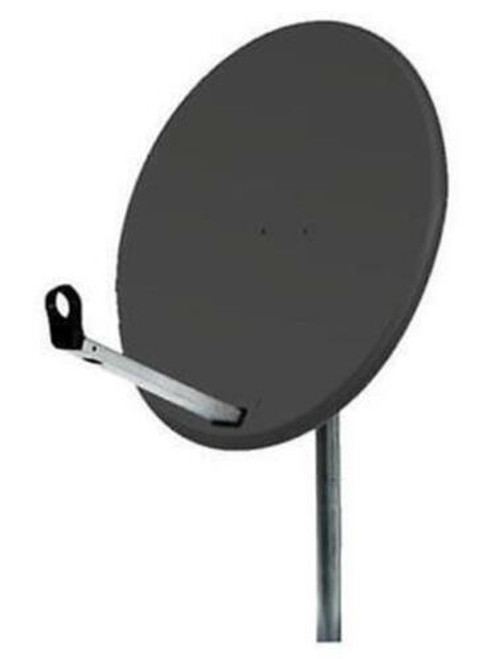 Inverto 80cm Solid Steel Satellite Dish With Pole Mount Fittings