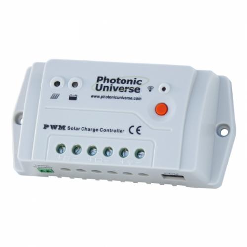 10A SOLAR PANEL CHARGE CONTROLLER / REGULATOR 12 / 24V FOR CAMPER / CARAVAN / BOAT