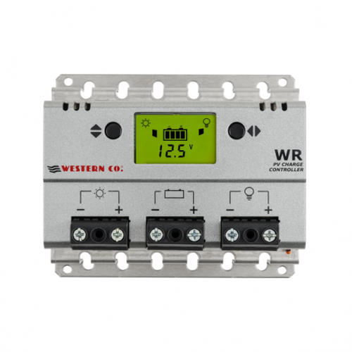 20A 12V/24V SOLAR CHARGE CONTROLLER WITH LCD DISPLAY FOR MOTORHOMES, BOATS, LIGHTING OR OFF-GRID SOLAR SYSTEMS
