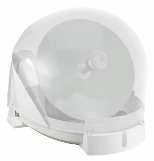 Maxview MXL023 VU Qube 2 Twin LNB Motorhome Caravan Boat Portable Satellite Dish