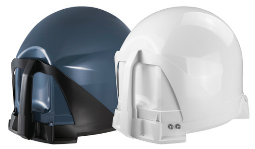 White or Grey Maxview VU Qube Twin LNB Motorhome Caravan Boat Portable Satellite Dish