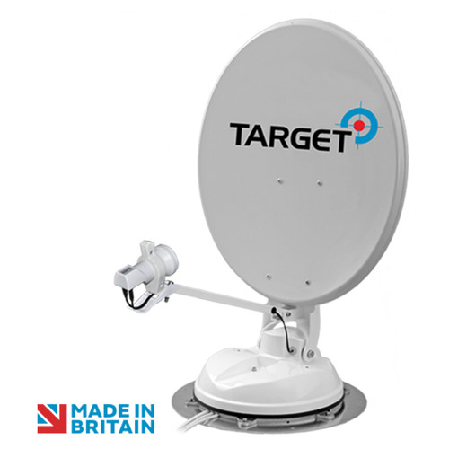 Maxview 65 or 85cm Target Roof Mounted Automatic Satellite Dish with Single, Twin or Quad LNB