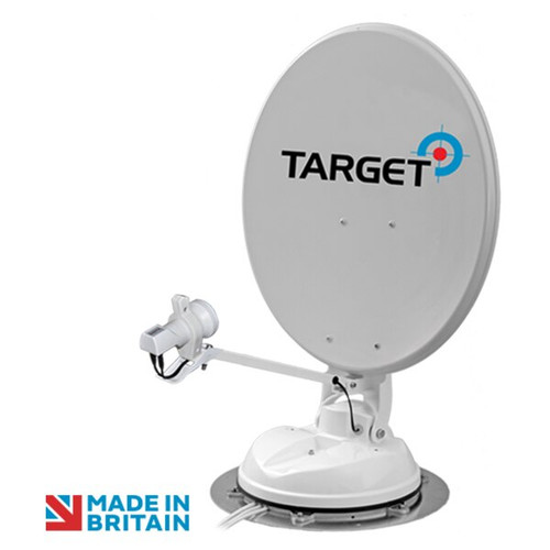 Maxview 50cm Target Roof Mounted Automatic Satellite Dish with Single, Twin or LNB