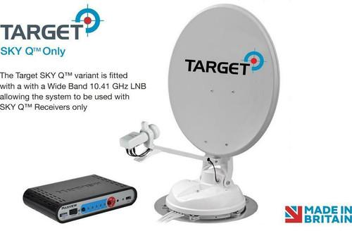 Maxview Target Auto Skew 65 or 85cm Sky Q LNB Automatic Motorhome Satellite Dish