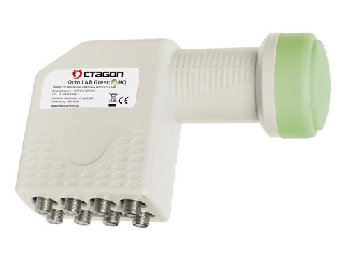 Octagon OOLG Green HQ HD/3D Ready Octo (8 Output) 0.1dB LNB