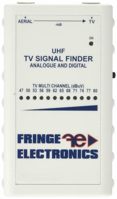 Fringe Electronics Caravan Or Home Aerial TV Terrestrial Signal Meter Finder