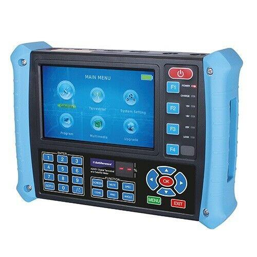 Antiference ASM01 Pro Digital DVB-T/T2 + DVB-S/S2 Terrestrial & Satellite Meter