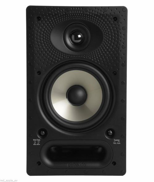 Polk Audio VS65RT Vanishing Series 2 Way In-Wall 125W Speaker