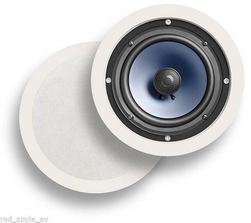Pair Of Polk Audio RC60i In Ceiling 100W Speakers