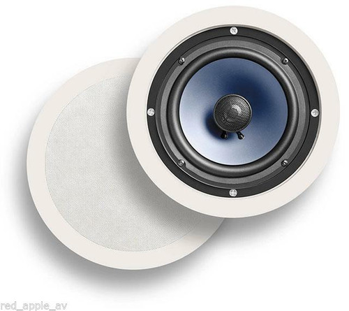 Pair Of Polk Audio RC60i In Ceiling 100W Speakers