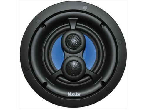 "BluCube BCK65-SS 6.5"" In-Ceiling Single Stereo Speaker Kitchens/Bathrooms"