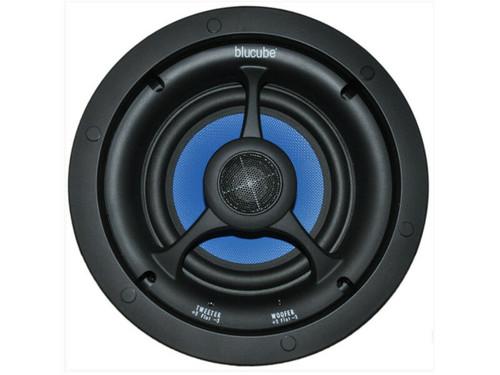 "Pair Of 125w BluCube BCK65 6.5"" In-Ceiling Stereo Speakers"