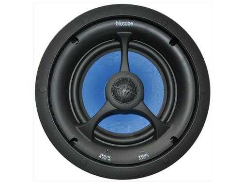 "Pair Of 150w BluCube BCK80 8"" In-Ceiling Stereo Speakers"