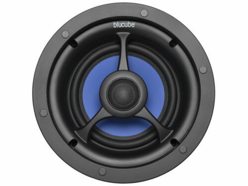 Pair Of 200w BluCube BCP80 Ceiling Speakers