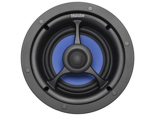 """Pair of BluCube BCP65 6.5"""" 125w In-Ceiling Speakers"""