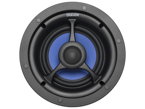 "Pair of BluCube BCP65 6.5"" 125w In-Ceiling Speakers"