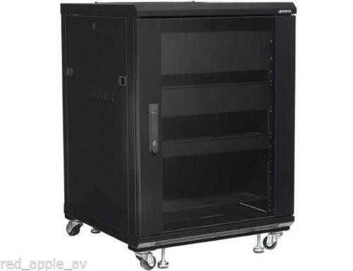 "SANUS CFR2115 34"" Tall 15U Component Audio Visual AV Rack Pre Assembled"