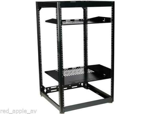"SANUS CFR1620 35"" Tall 20U Stackable Skeleton AV Rack"