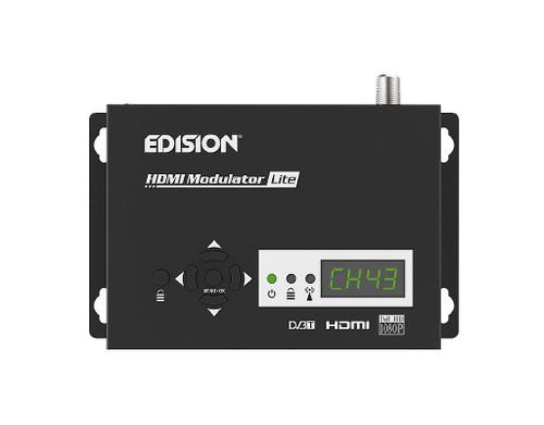 Edision Lite HDMI To RF HD 1080p Plug N' Play Modulator