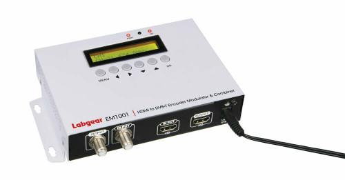 Labgear EM1001 SD & HD Digital Encoder RF Modulator DVB-T with HDMI Loop Out
