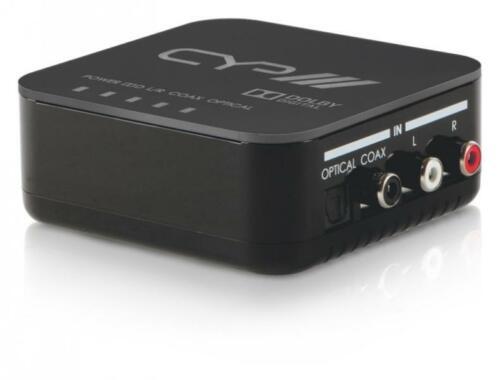 CYP AU-11DD Dolby Digital Downmixer with Digital / Analogue Audio Conversion