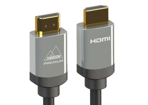 Samson 0.5, 1, 2, 3, 5m Premium Certified 4K HDMI 4K, HDCP2.2, Ethernet, ARC, 3D, Cable