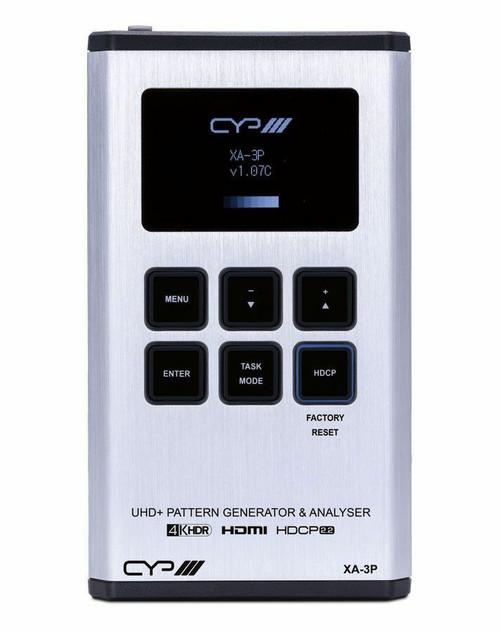 CYP XA-3P HDMI Pattern Generator, Analyser Cable Tester (4K, HDCP2.2, HDMI2.0)