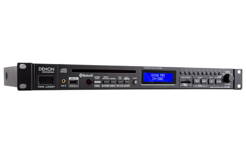 Denon DN-300Z Pro CD/Media Player With Bluetooth/USB/SD/Aux & AM/FM Tuner
