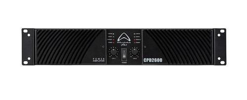 Wharfedale CDP2600 650W RMS at 8 Ohms and 1000W RMS at 4 Ohms Power Amplifier