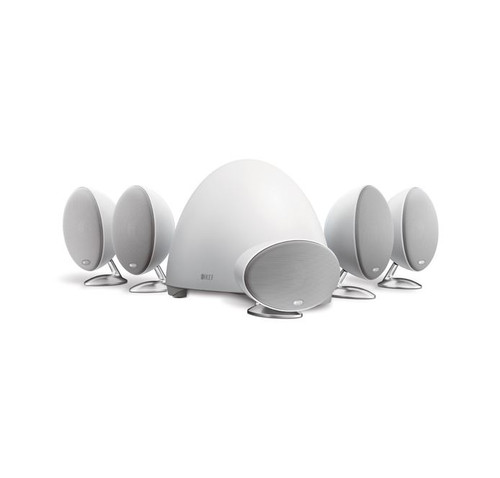KEF E305 5.1 Home Theatre Speaker Package, White
