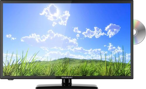 "Megasat Royal Line II 32"" DVB-S2/T2/C 12/240v Caravan Camping TV With DVD Player"