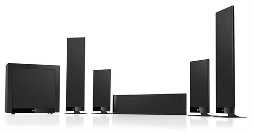 KEF T205 5.1 Home Theatre Speaker Package, Black or White