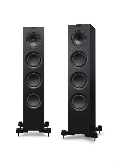 KEF Q550(P) Floorstand Speaker Pair Satin Black or White