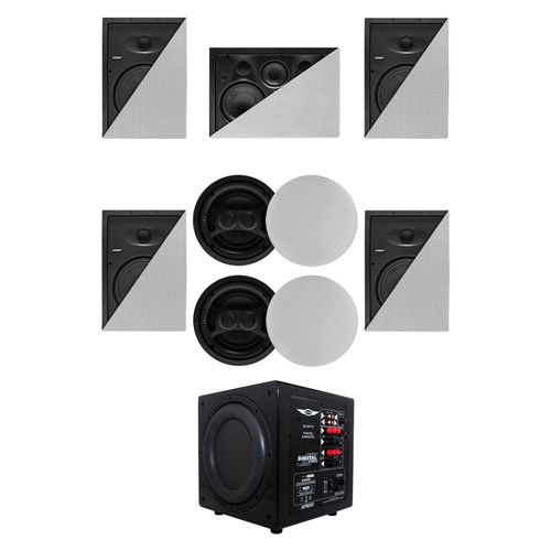 Earthquake Sound 5.1.2 System P10-80 Speaker Package System