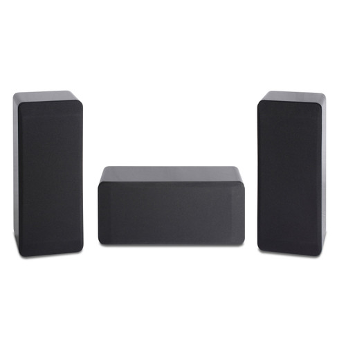 Atlantic Technology LCR3 125w Compact Loudspeakers, Gloss Black or Gloss White Finish