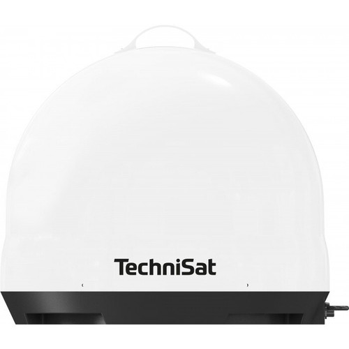 TechniSat SKYRIDER Portable DOME Camping Satellite Dish With A Twin LNB