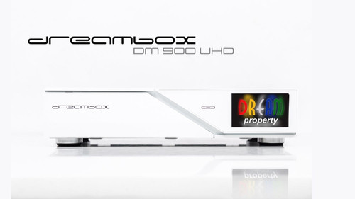 White DreamBox DM 900 Ultra HD 4K (Official) Satellite Receiver Various Tuners Available