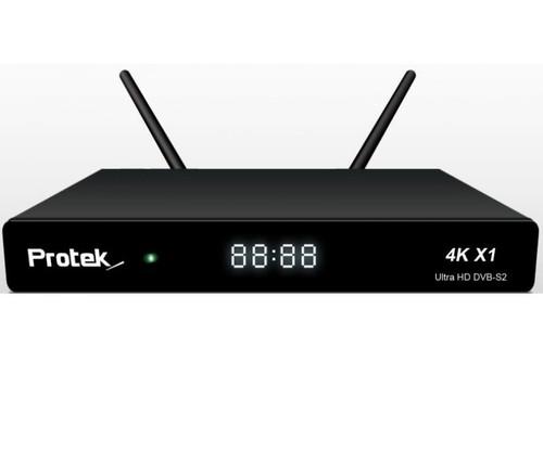 Protek X1 4K UHD Satellite Receiver With WiFi