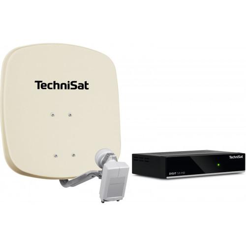 TechniSat 45cm DIGIDISH + 1 x DIGIT S3 HD Satellite Receiver Kit