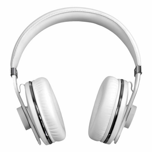 Finlux White Wireless Bluetooth Headphones 10 Hour Plackback 10 Meter Range
