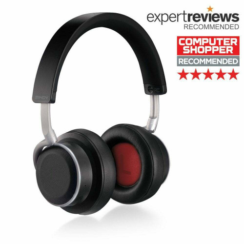 Lindy BNX-100 Wireless ANC Noise Cancelling Headphones Bluetooth 5.0 With aptX