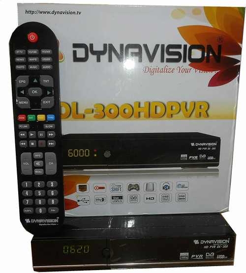 Dynavision DL-300 Free To Air HD 1080P Satellite Receiver