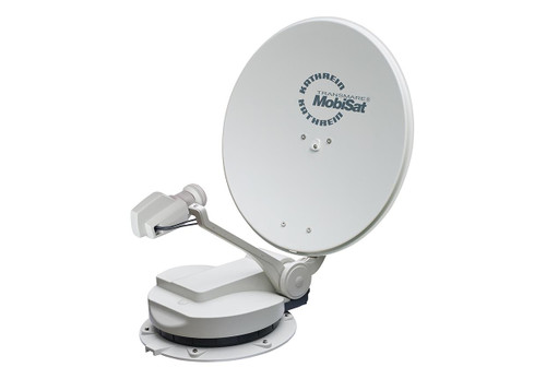 Kathrein CAP 750 GPS 60cm Fully Automatic Camping, Motorhome Satellite Dish Kit Twin LNB