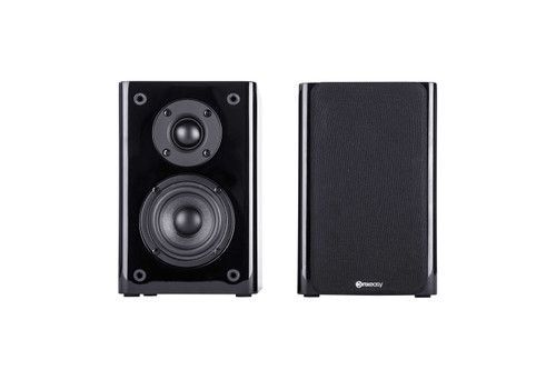 Pair Of ConXeasy S603 30W Speakers With Bluetooth & Built In Amplifier Black or White Finish