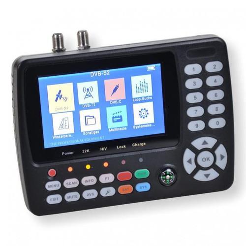 SUMMIT SCT 845 Combi Meter Finder Sat DVB-S/S2 Terrestrial DVB-T/T2, Cable DVB-C