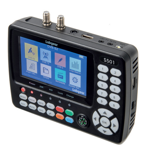 Labgear S501 Satellite & Terrestrial Signal Meter Ideal For Sky-Q™ & Cable TV