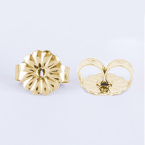 Solid 14K Gold Standard Earring Backs