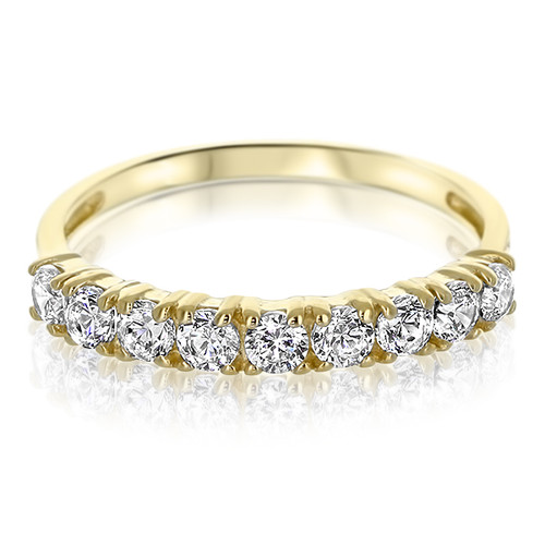 Jenny Rounds Nine Stone Anniversary Cubic Zirconia Band