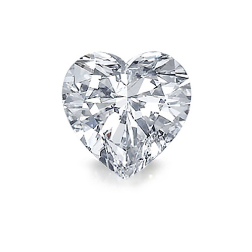 Heart Mystique Cubic Zirconia Loose Stone