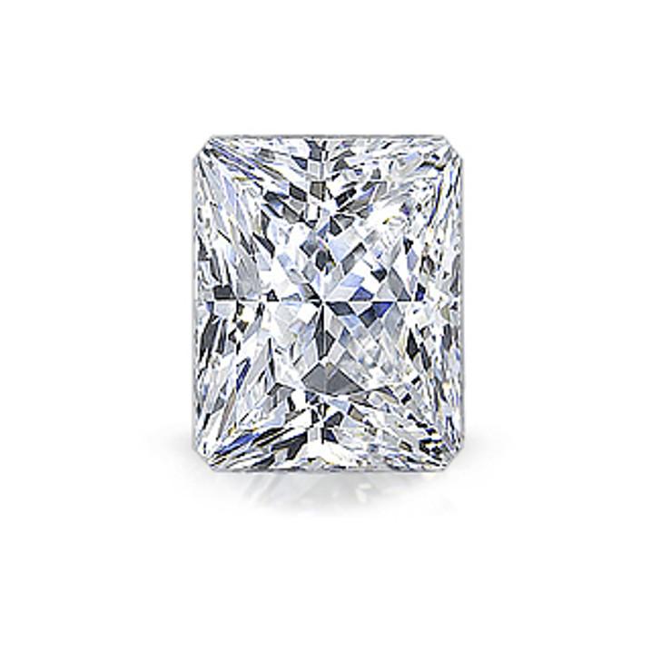 Starburst Emerald Cut Mystique Cubic Zirconia Loose Stone